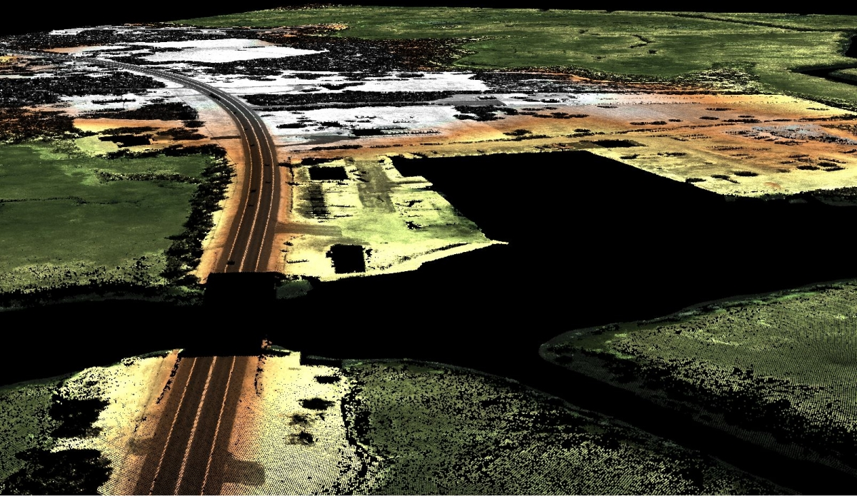 HD-LIDAR Ground Points only