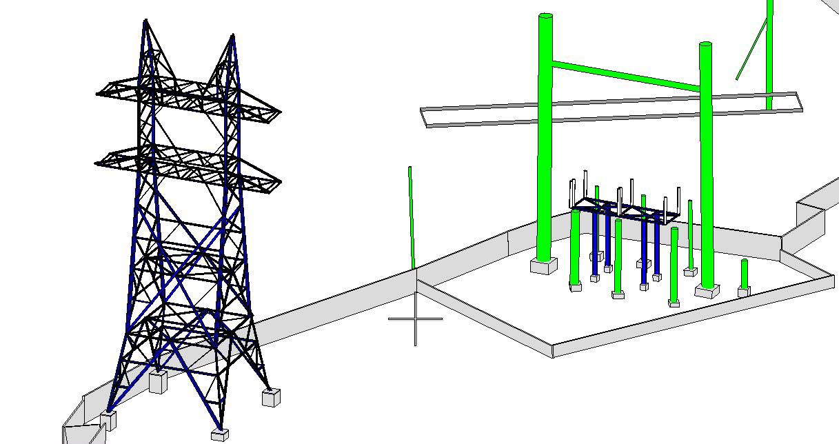 3D Modeling Power Generation Station